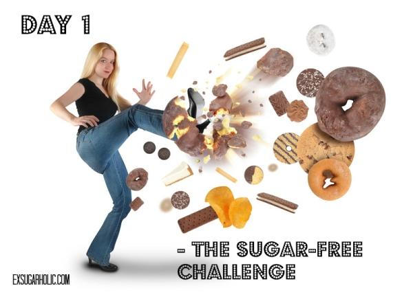 Sugar-free challenge - day 1